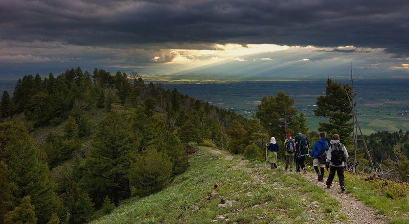 Bridger-hike-scouts